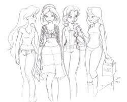 modern day princesses sketch by jupta on deviantart