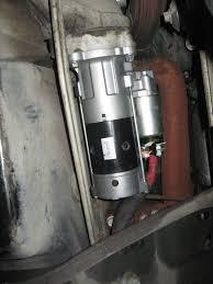 installed autozone gold duralast 3 bolt starter 2002 7 3l psd