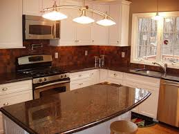 brown kitchen cabinets backsplash ideas brown granite with white cabinets backsplash ideas