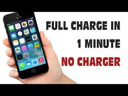 Charge Your Phone Charge Your Phone Without A Charger Just In A Minute Youtube
