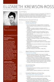 Marketing Resume Example by Director Of Marketing Resume Samples Visualcv Resume Samples