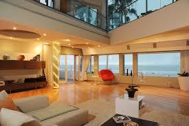 3111 ocean front walk ph living room ocean view dusk dream home