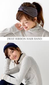 women s hair accessories unrobi rakuten global market hairband ribbon flat band