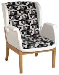 Black And White Armchairs Black And White Armchair Home Design