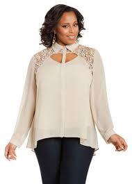 peekaboo blouse crochet shoulder peekaboo blouse from stewart a c for