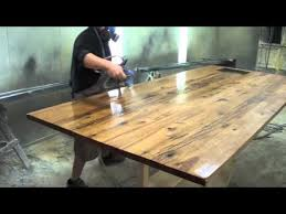 How To Reclaim Barn Wood Reclaimed Wood Counter Top Youtube