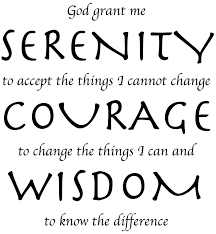 a study of the serenity prayer al anon family group