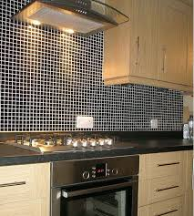 kitchen wall tile backsplash wholesale porcelain tile mosaic black square surface tiles