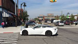 lexus lc 500 news and 2017 lexus lc500 spotted in detroit autoweek