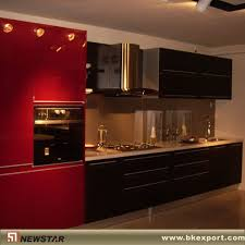 Red Gloss Kitchen Cabinets High Gloss Kitchen Cabinets 2903