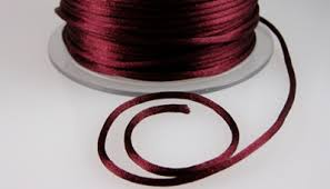 rattail cord silk and satin strings cords bello modo your online source