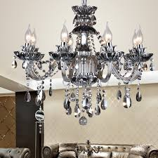 12 Bulb Chandelier Aliexpress Com Buy 12 Modern Kitchen Chandeliers Smoke Gray