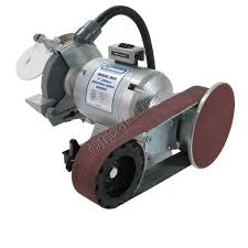 Bench 8 Linishall 8 Inch Hd Bench Grinder With Belt And Disc Grinding