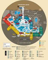 Maps Orlando by Gaylord Palms Resort And Spa Map