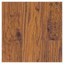 shop swiftlock handscraped hickory laminate flooring at lowes com