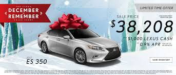 lexus dealers atlanta hennessy lexus lexus december to remember offers and specials in