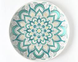 Decorative Hanging Plates Hanging Plate Etsy