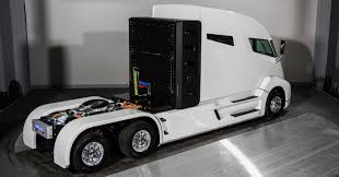 semi truck pictures tesla semi truck what will be the roi and is it worth it