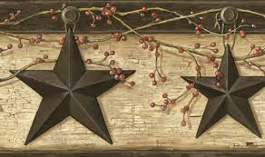 Wallpaper Barn Rustic Barn Star Wallpaper Border