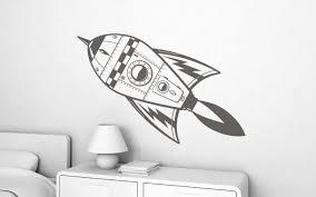 stickers enfant fusée XL  Perso  Pinterest  Dessin Fusée et
