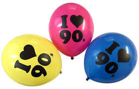s decorations i the 90s balloons party decorations 1990s 90 s theme bright