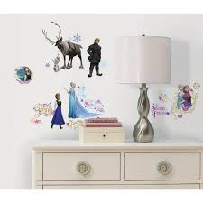 sticker grand format roommates 5 in x 19 in frozen peel and stick wall decals