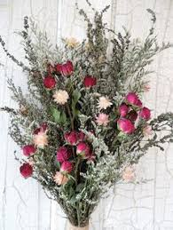 Dried Flower Arrangements Dried Flower Arrangement In Burlap Bag Dried Flower Arrangements