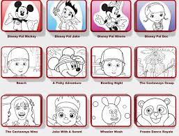 disney junior printable coloring pages free bebo pandco