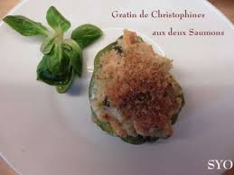 comment cuisiner christophine verte recettes de christophine et gratins
