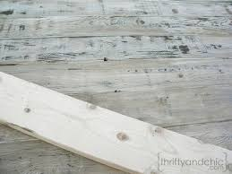 How To Age Wood With Paint And Stain Simply Swider by How To Make New Wood Look Old Weathered And Rustic Projects