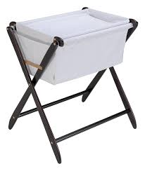 Foldable Change Table Folding Bassinet With Bassinet Changer Espresso Folding Changing