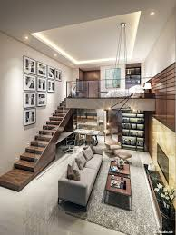 Home Interior Design For Small Houses Small Homes That Use Lofts To Gain More Floor Space Living Room