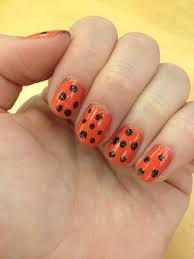 the beauty of life happy halloween polka dot nail art with
