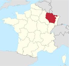 Champagne France Map by Lorraine Wikipedia