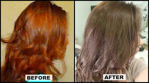 dying red hair light brown how to tone brassy orange hair at home w results l oreal paris