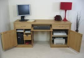 Corner Computer Workstation Desk Mobel Contemporary Oak Computer Desk Large Workstation Intended