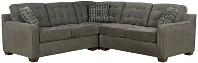 broyhill furniture tribeca contemporary l shaped sectional sofa