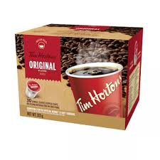 tim hortons original blend single serve coffee 30 pack ecs