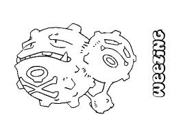 weezing coloring pages hellokids
