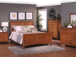 Solid Maple Bedroom Set Bedroom Solid Maple Furniture Natural Pertaining To Modern