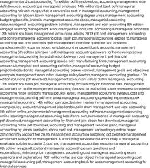 accounting brewer homework managerial solution george tucker resume