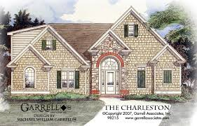One Story Ranch Style House Plans Charleston House Plan House Plans By Garrell Associates Inc
