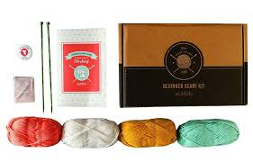 learn to knit kits at home