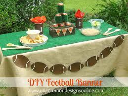 football decorations diy tailgating football banner football banner diy and banners