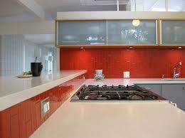 impressive plain red subway tile backsplash 53 best red tile