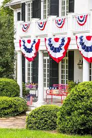 Decorative Wedding House Flags Amazon Com Patriotic Bunting 2 Sided Pleated Flag 58