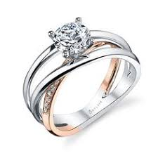modern wedding rings jeff sheldon cooper designs modern style womens wedding