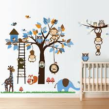 Nursery Wall Decals For Baby Boy Wall Decals Nursery Nursery Wall Decal Tree Decal Baby Boy