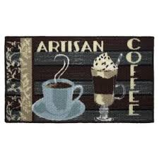 coffee themed kitchen rugs wayfair