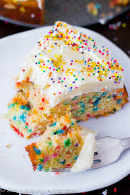 confetti cake cook diary
